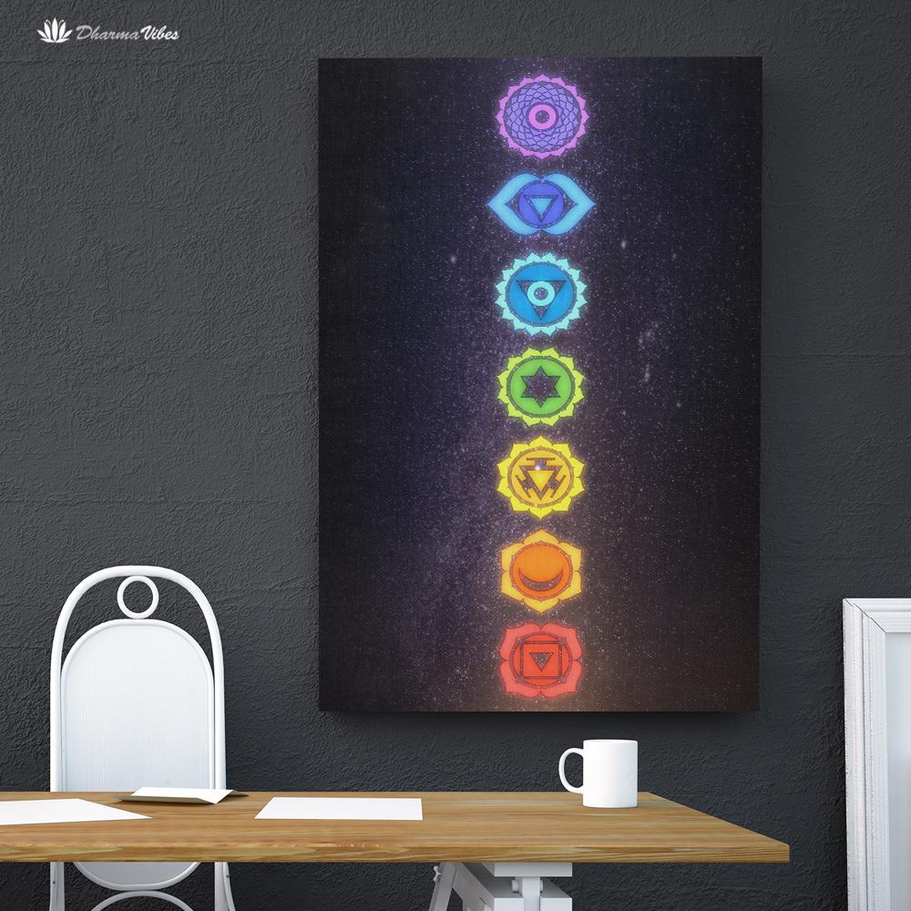 7 Chakras by McAshe 1-Piece Canvas Art