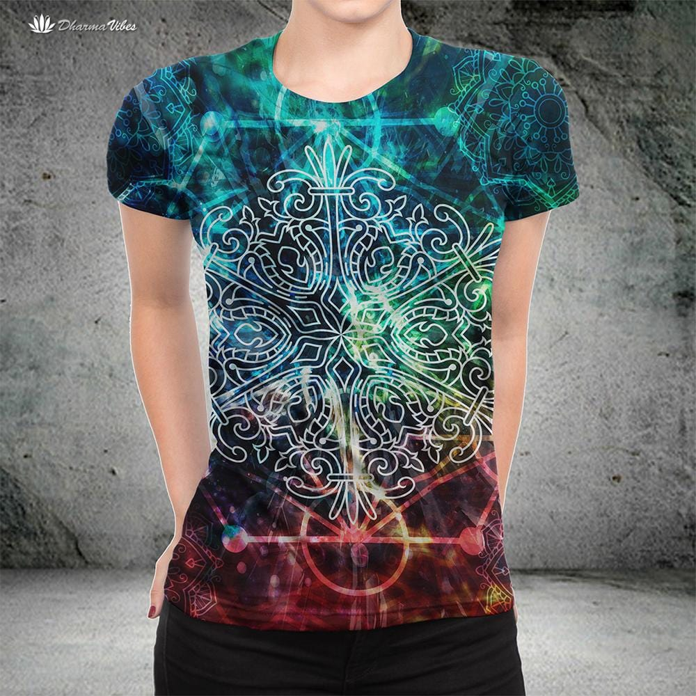 Sacred Geometry by McAshe Shirt