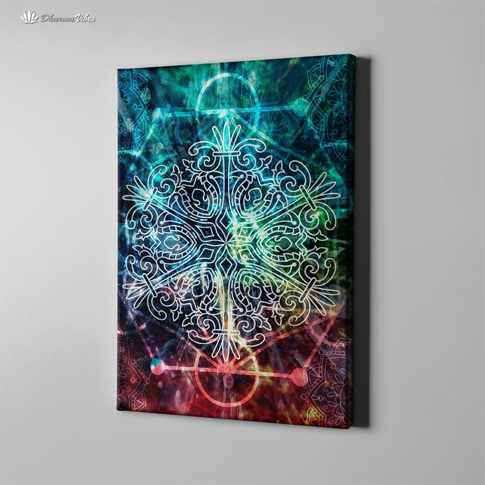 Sacred Geometry by McAshe 1-Piece Canvas