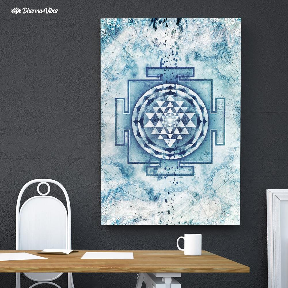 Nirvana Yantra by McAshe 1-Piece Canvas