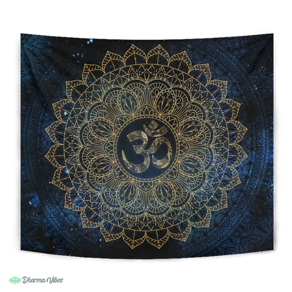 Cosmic OM by McAshe Tapestry