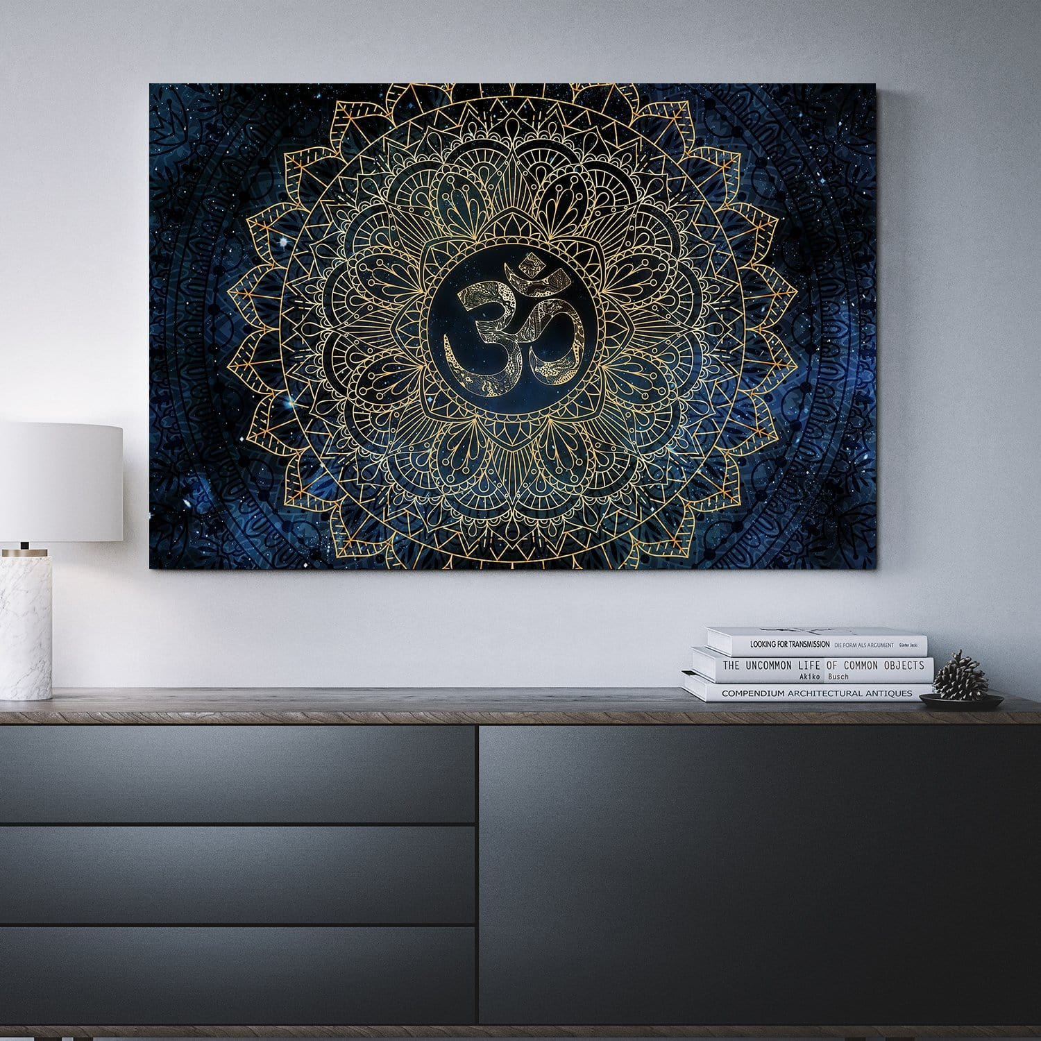 Cosmic OM by McAshe 1-Piece Canvas Art