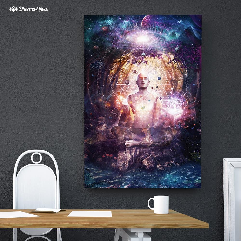 Connected to Source by Cameron Gray 1-Piece Canvas