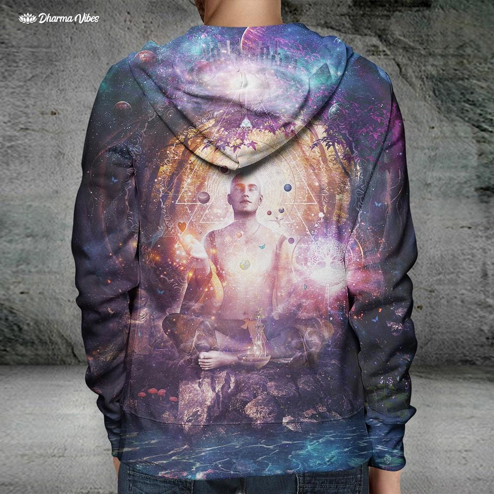 Connected to Source by Cameron Gray Hoodie