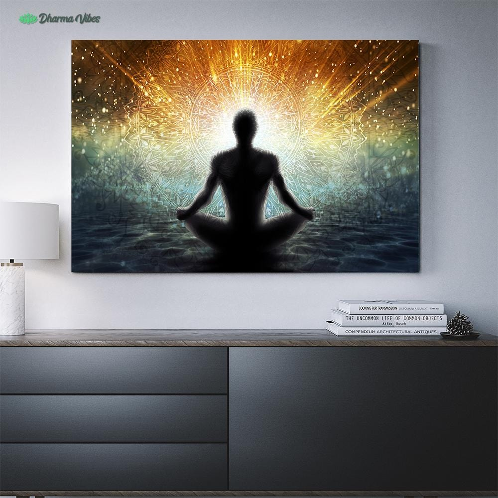 Crepuscular Radiance by McAshe 1-Piece Canvas