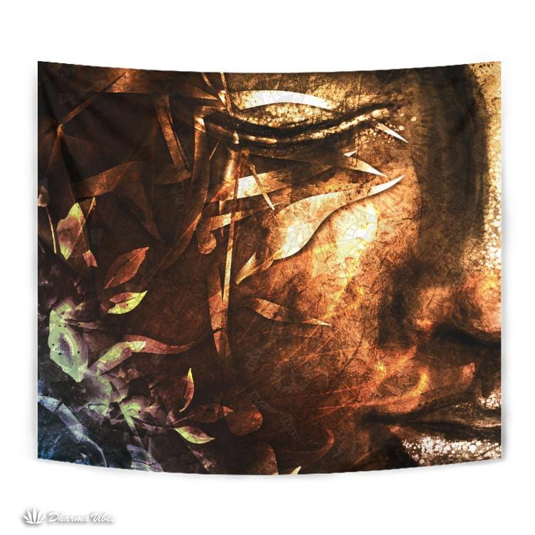 Calm Buddha by McAshe Tapestry