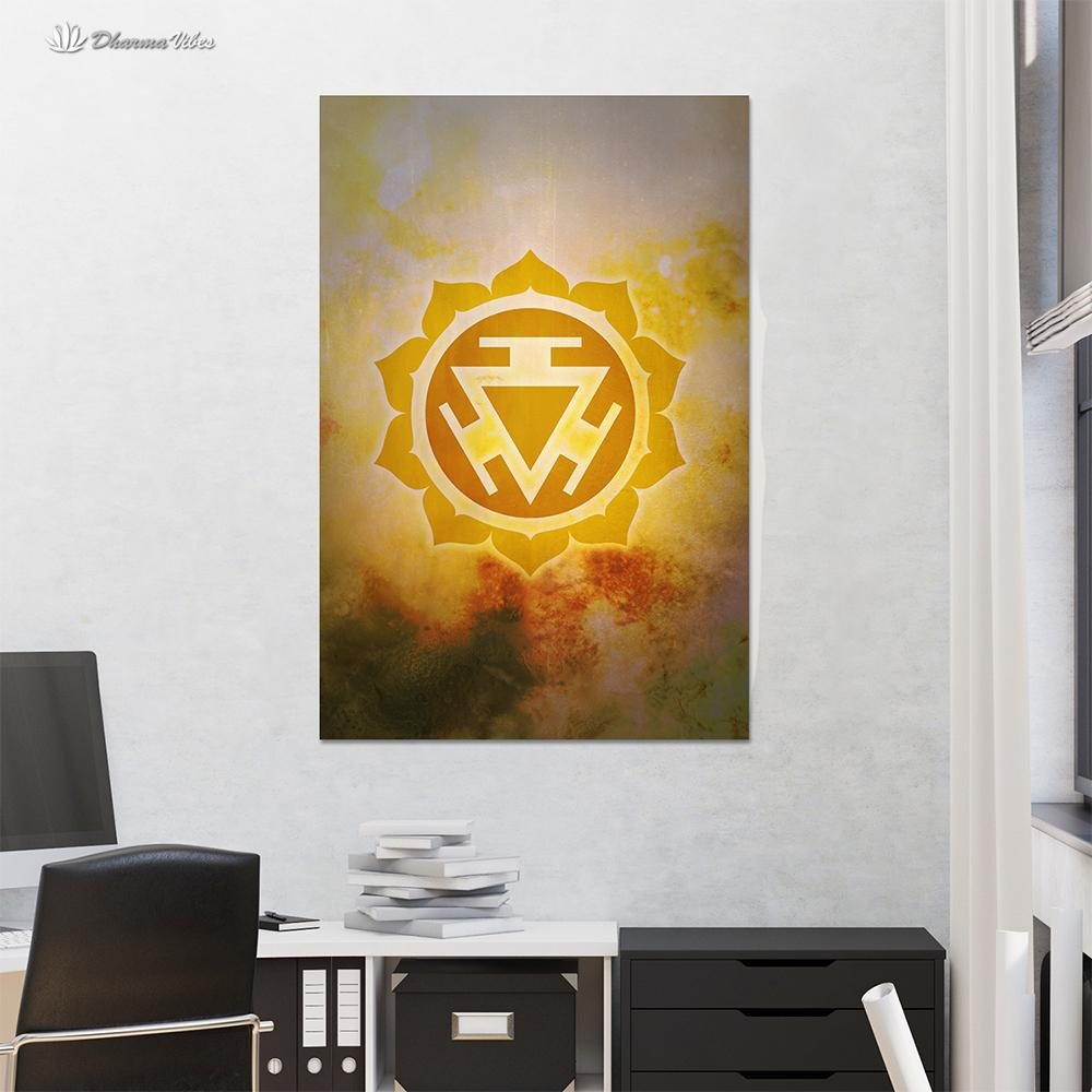 Manipura 3rd Chakra by McAshe 1-Piece Canvas Art