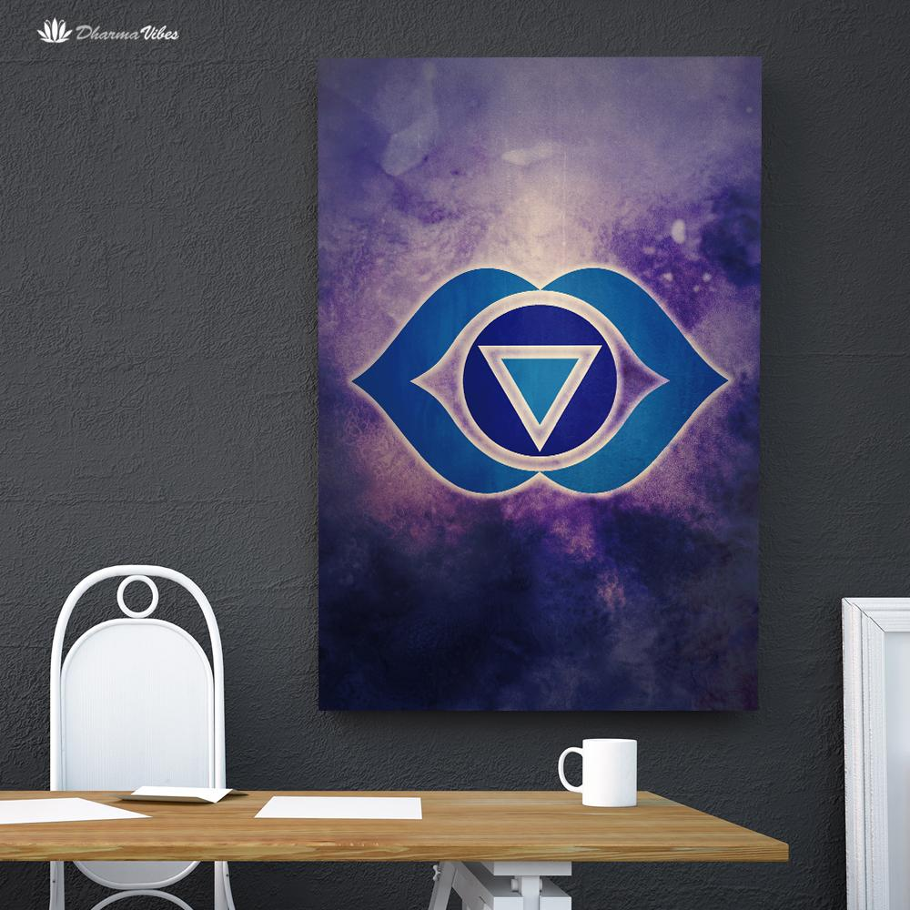 Ajna 6th Chakra by McAshe 1-Piece Canvas Art