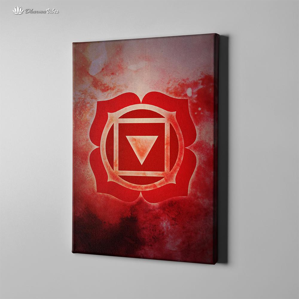 Muladhara 1st Chakra by McAshe 1-Piece Canvas Art