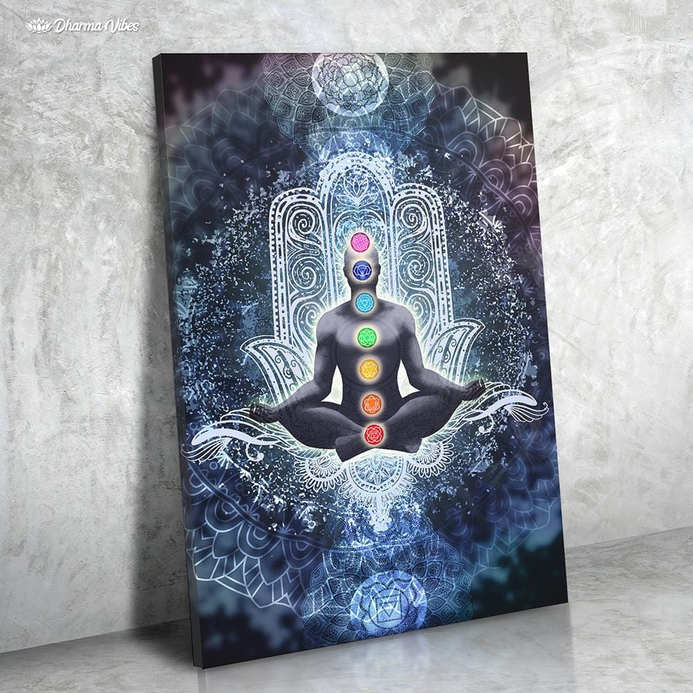 Enlightened Chakra by McAshe 1-Piece Canvas Art