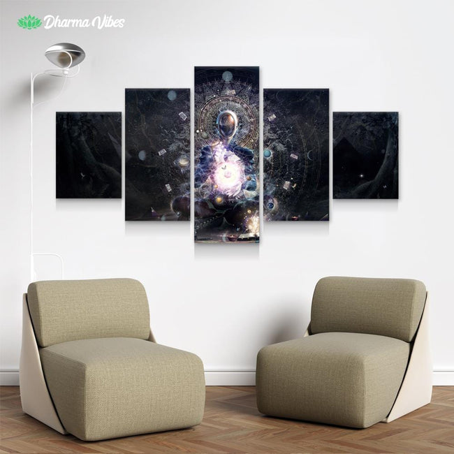 Cosmic Ritual by Cameron Gray 5-Piece Canvas