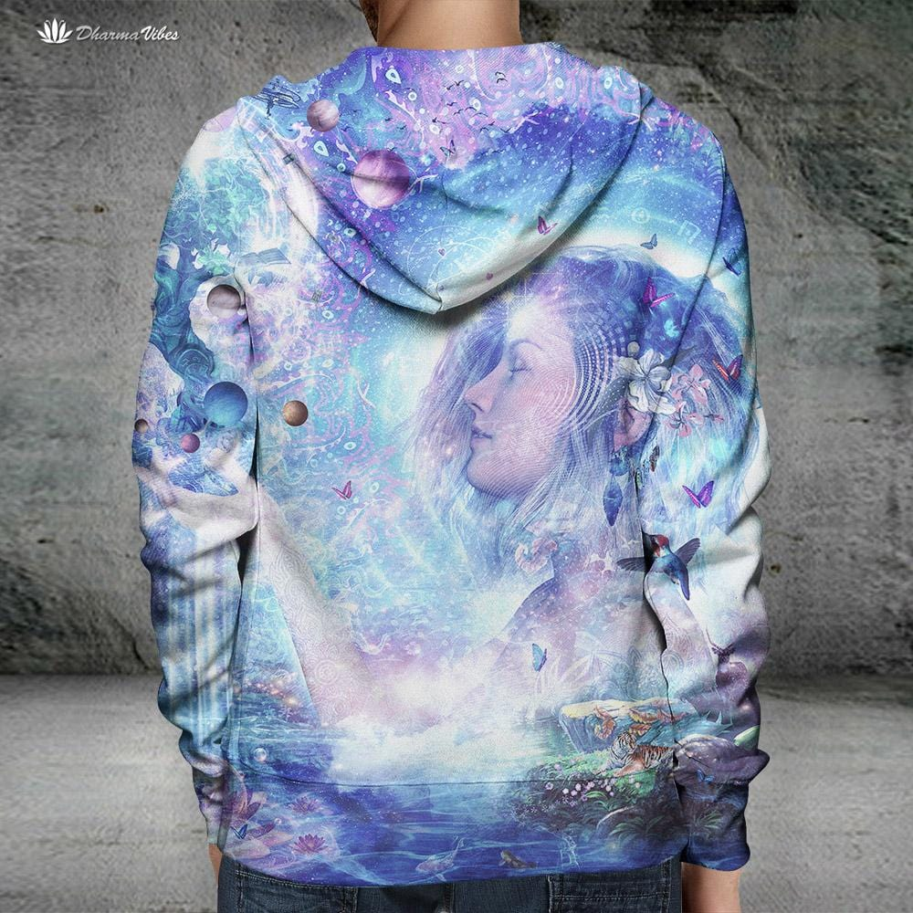 Dancing Dreams by Cameron Gray Visionary Hoodie