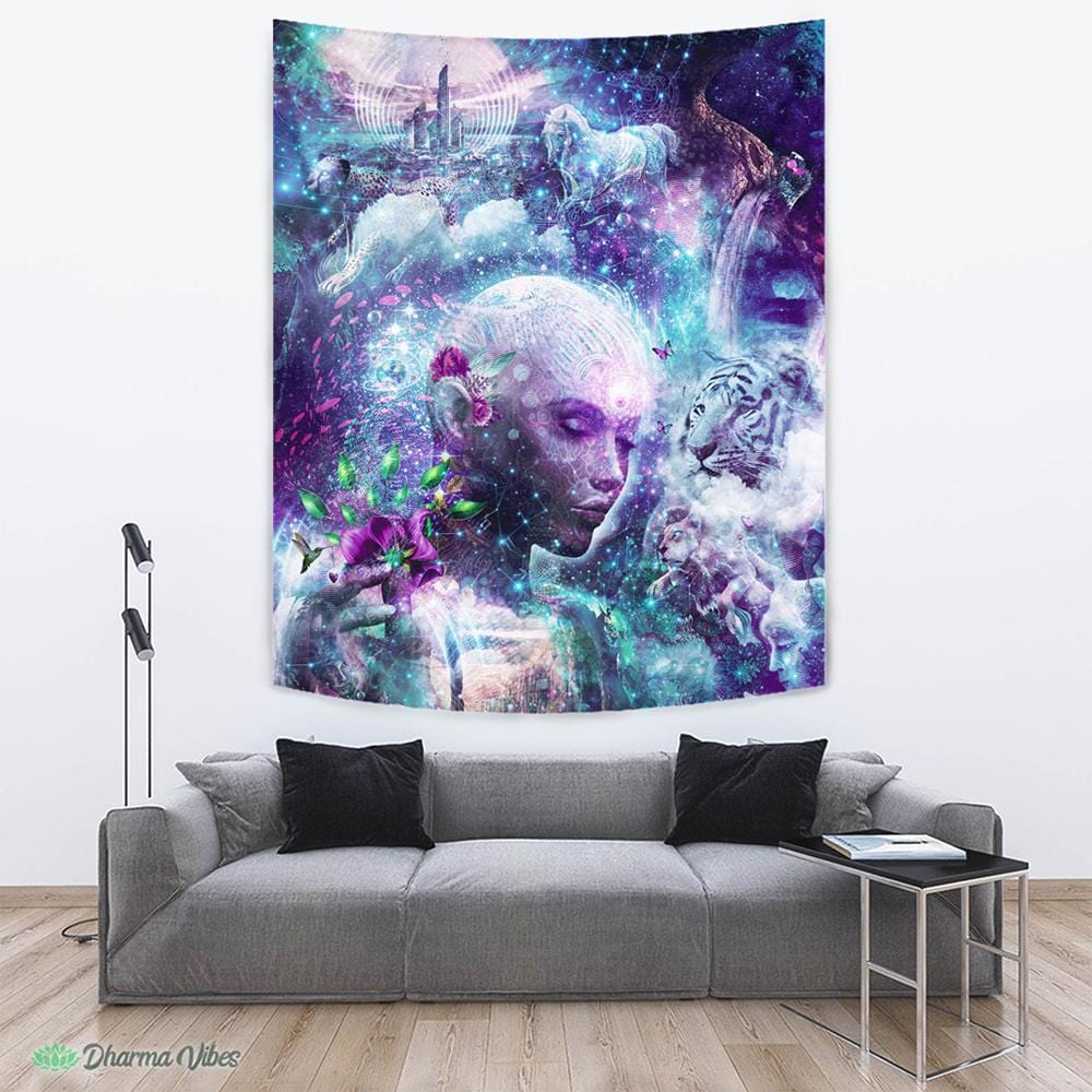 Discovering The Cosmic Consciousness by Cameron Gray Tapestry
