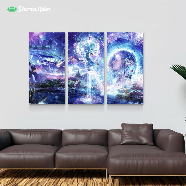Dancing Dreams by Cameron Gray 3-Piece Canvas
