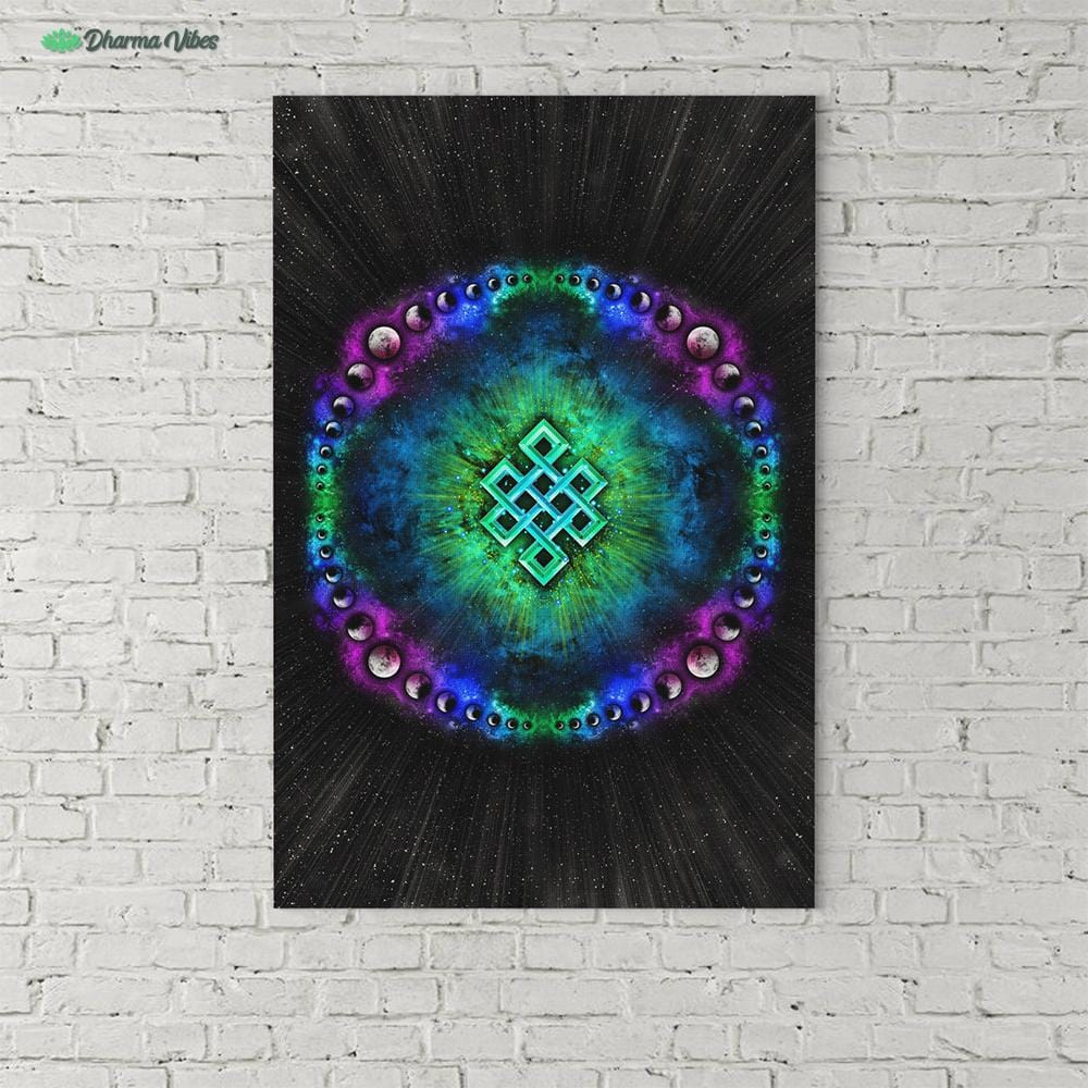 Endless Cosmos by YantrArt Design 1-Piece Canvas