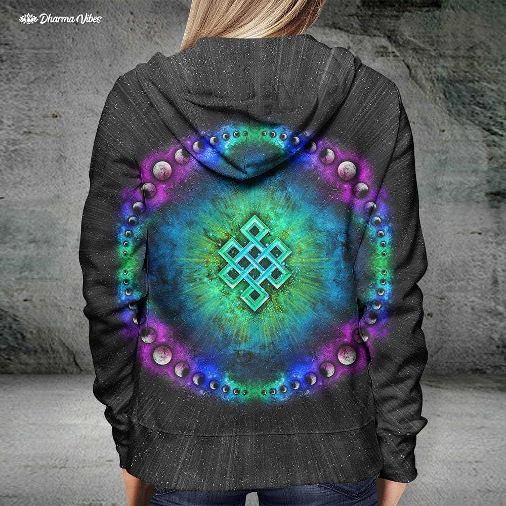 Endless Cosmos by YantrArt Design Hoodie