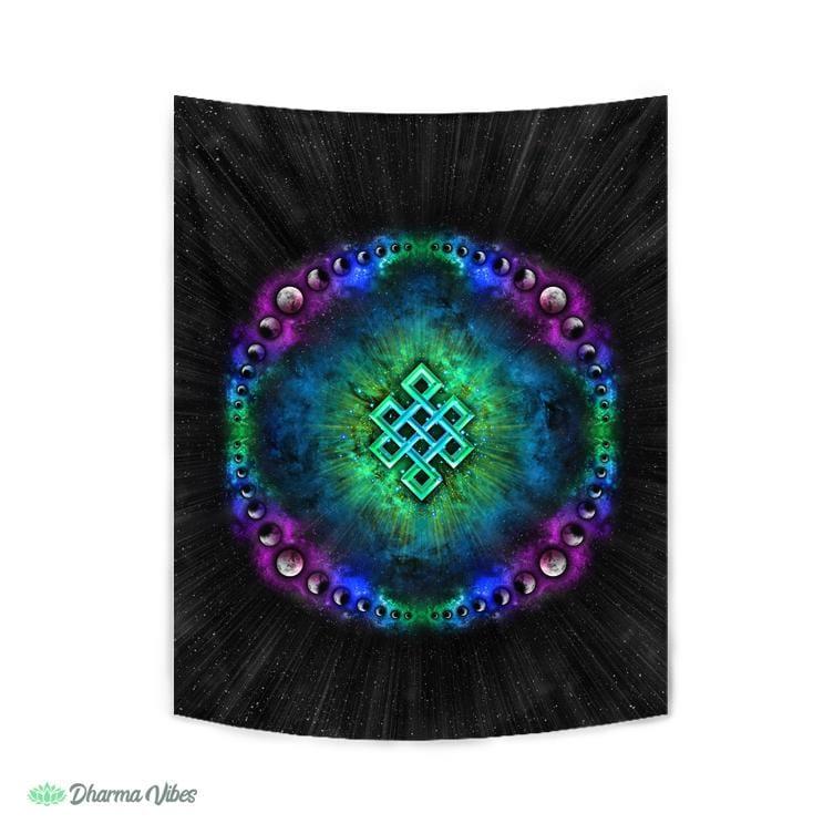 Endless Cosmos by YantrArt Design Tapestry
