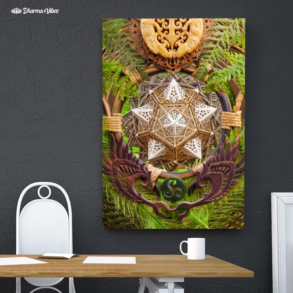 Earth Dragon by LIghtWizard 1-Piece Canvas