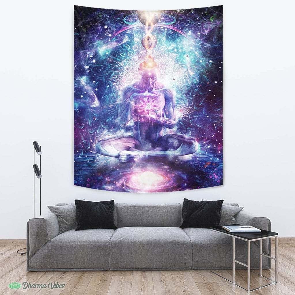 On the Edge of Harmony by Cameron Gray Visionary Tapestry