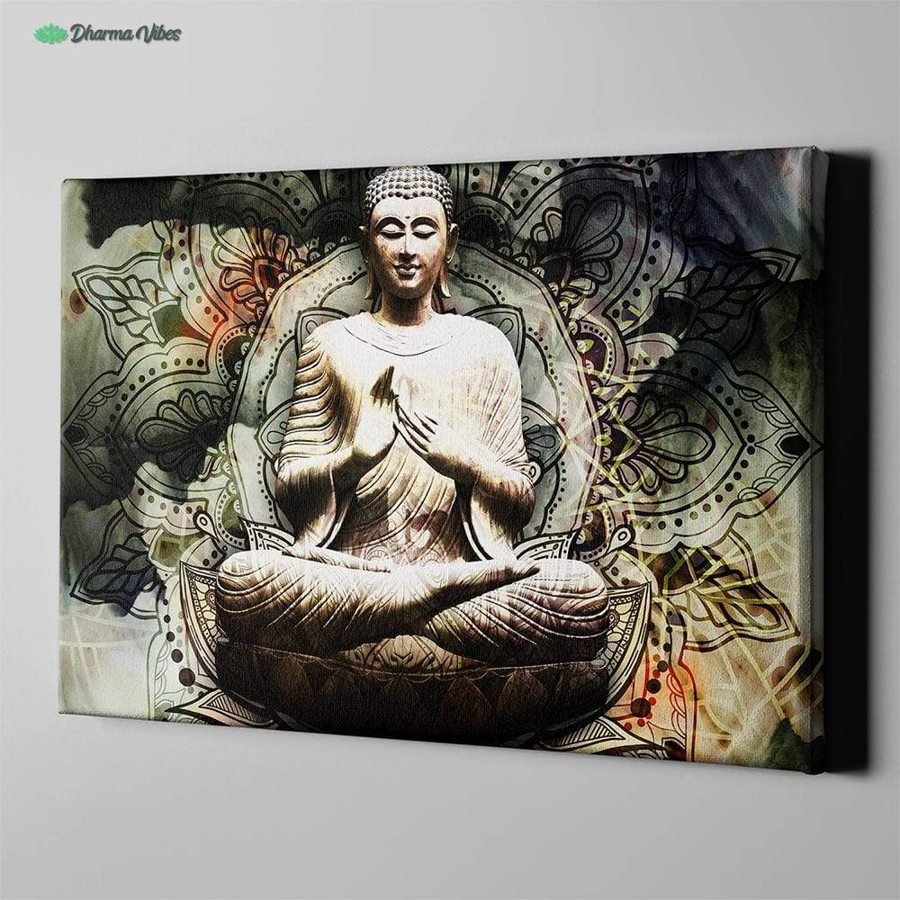 Framed Upgrade for Buddha Serenity 1-Piece Canvas Art