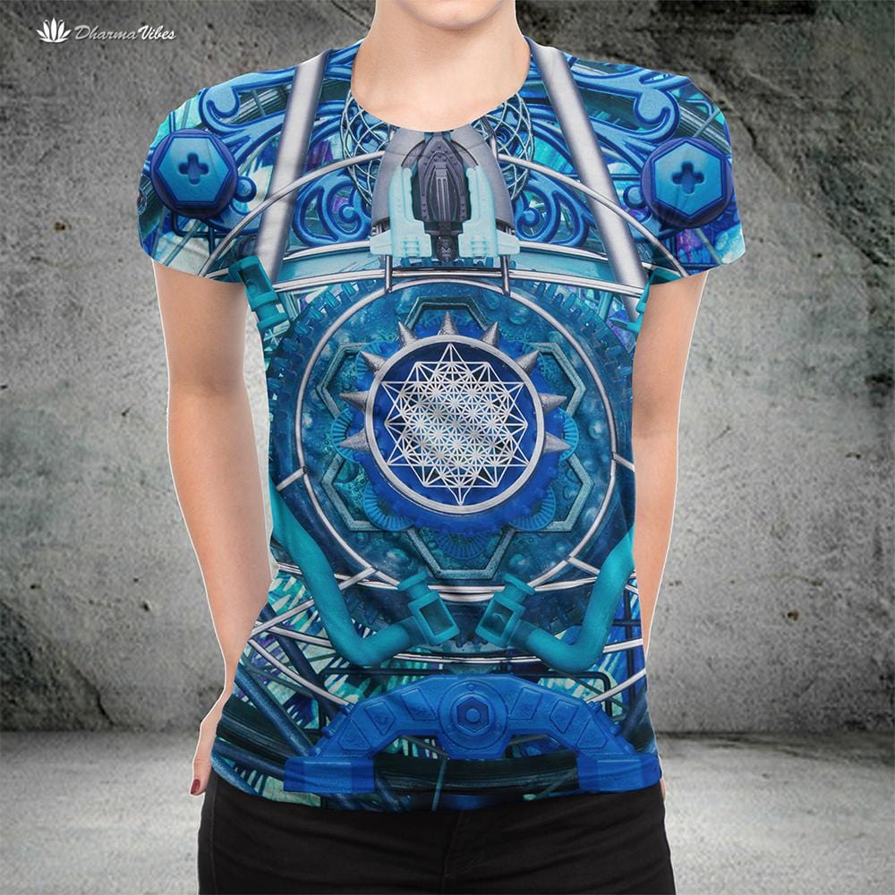 Water Dragon by LightWizard Visionary T-Shirt