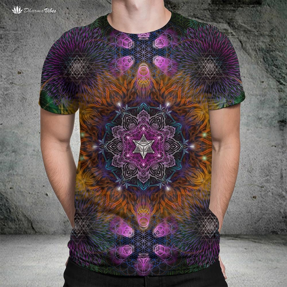 Geometric Color by YantrArt Shirt