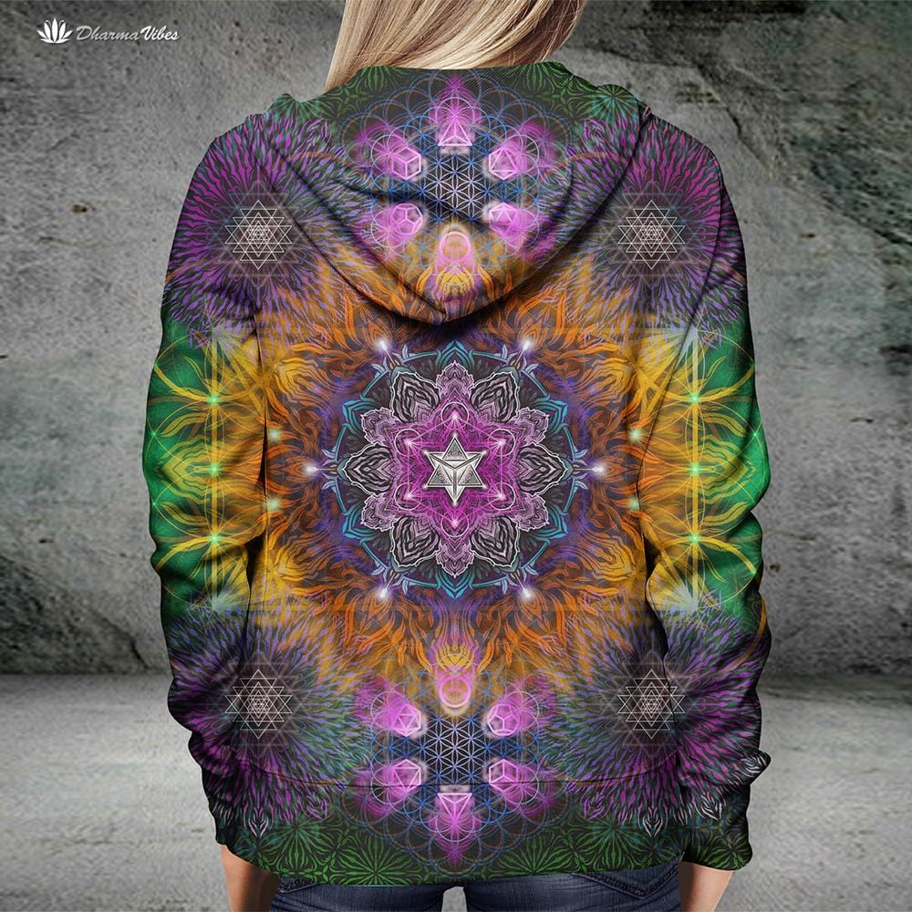 Geometric Color by YantrArt Design Hoodie