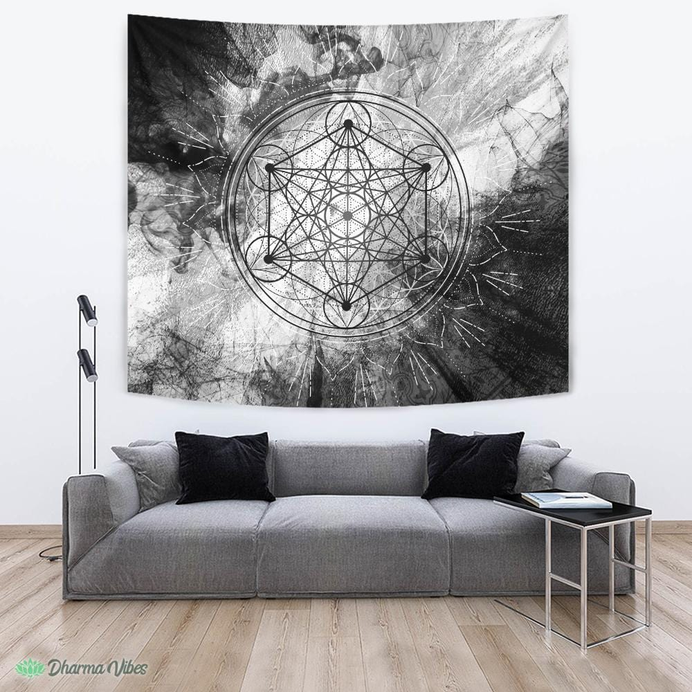 Grunge Metatron by McAshe Tapestry