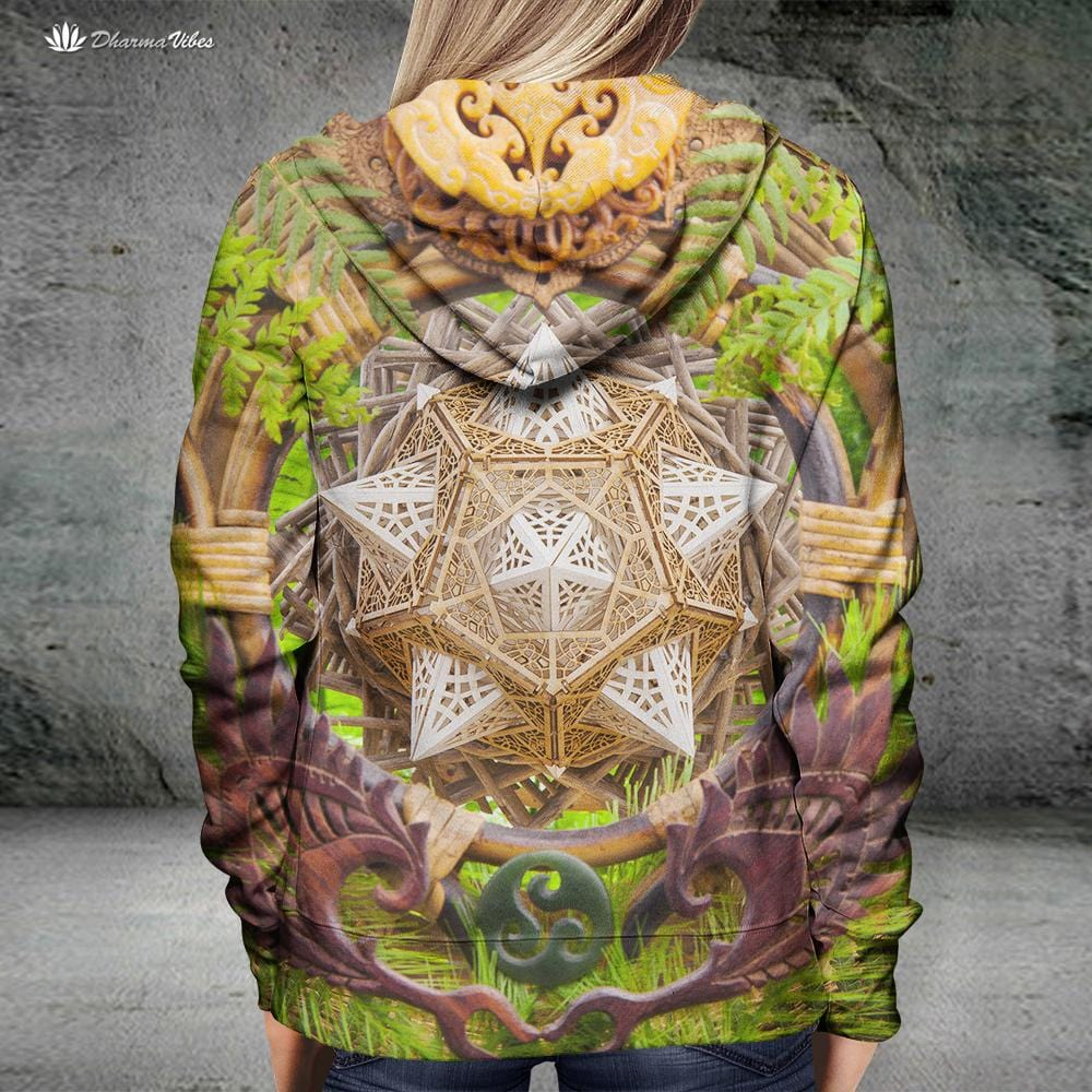 Earth Dragon by LightWizard Visionary Hoodie
