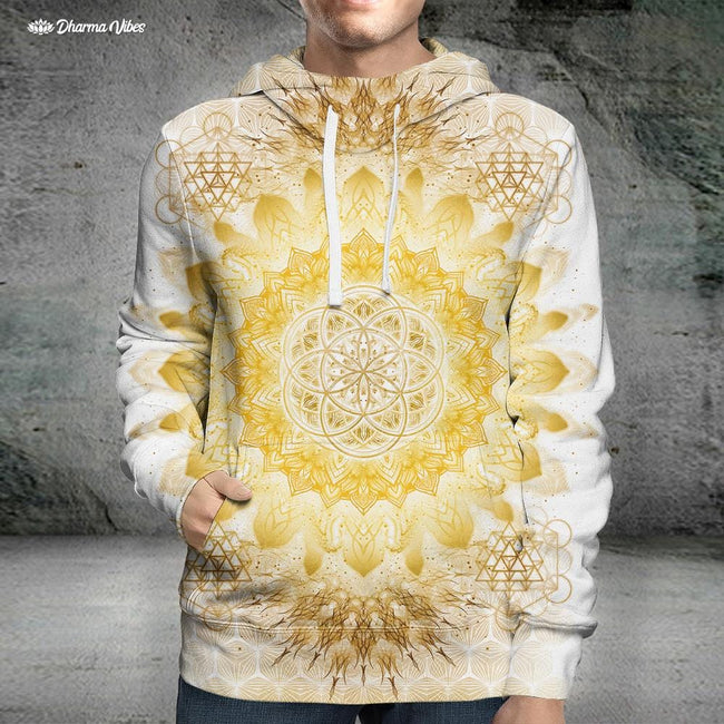 Raising Clear Gold by YantrArt Hoodie