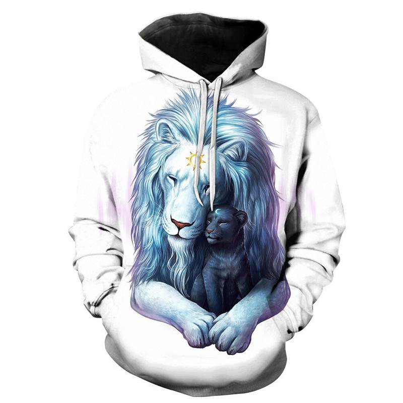 Child of Light by JoJoesart (Lion 3D Hoodie)