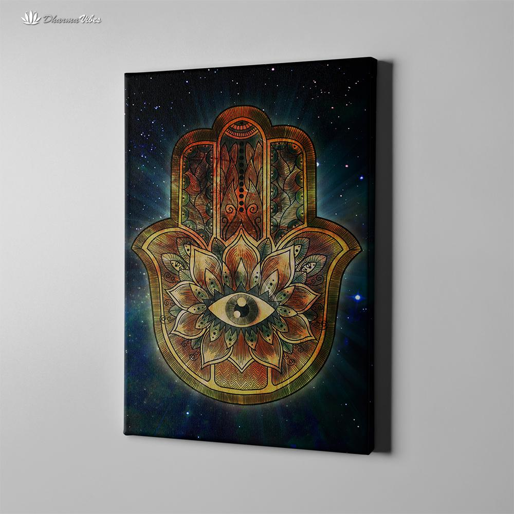 Hamsa by McAshe 1-Piece Canvas Art