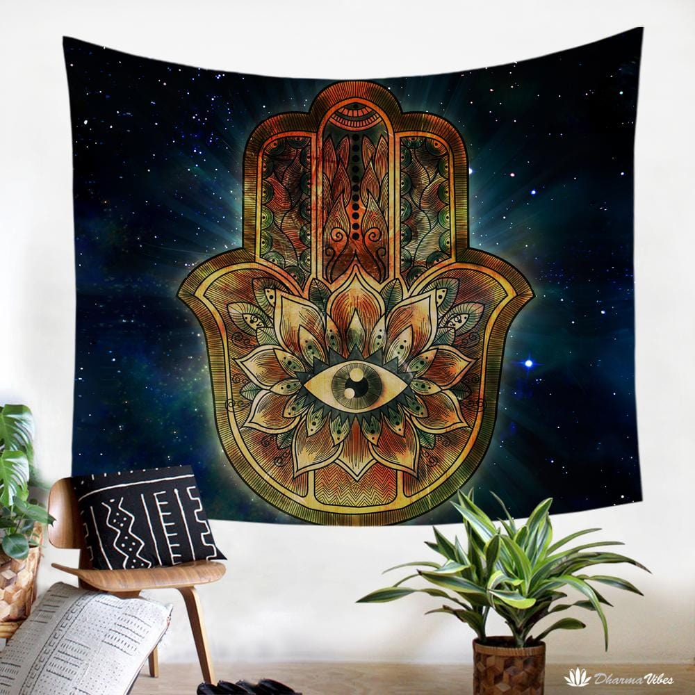Hamsa Tapestry by McAshe