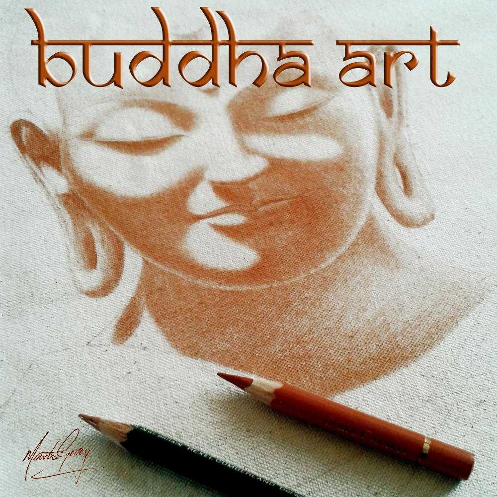 Buddha by Buddha Art (Martin Gray) 1-Piece Canvas Art