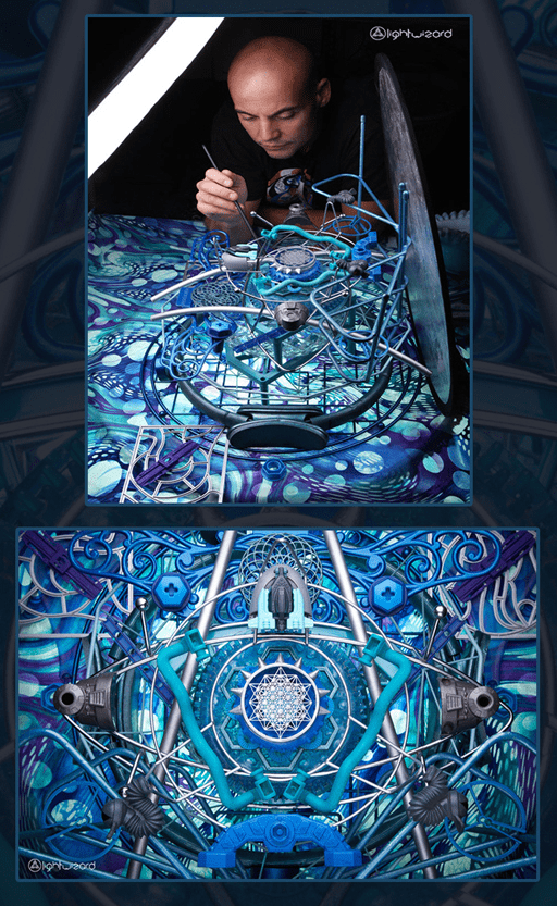Metatron by LightWizard Visionary Tapestry