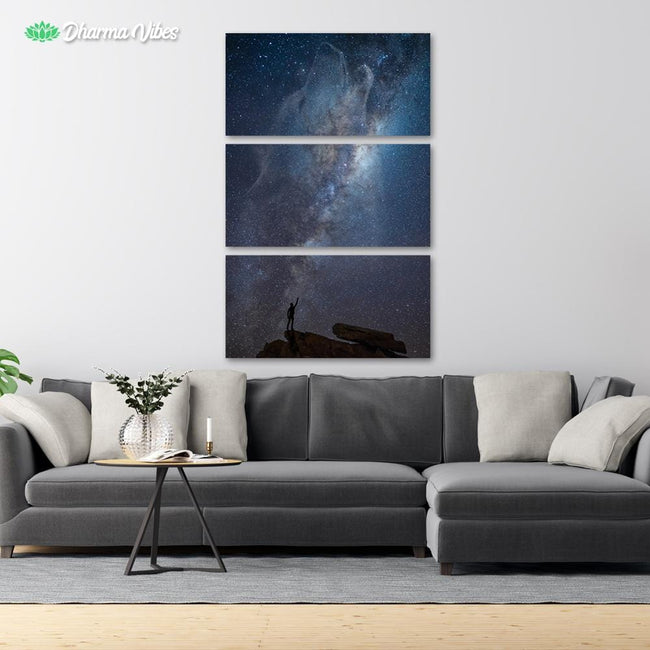 Lone Wolf Design by KitConcepts 3-Piece Canvas