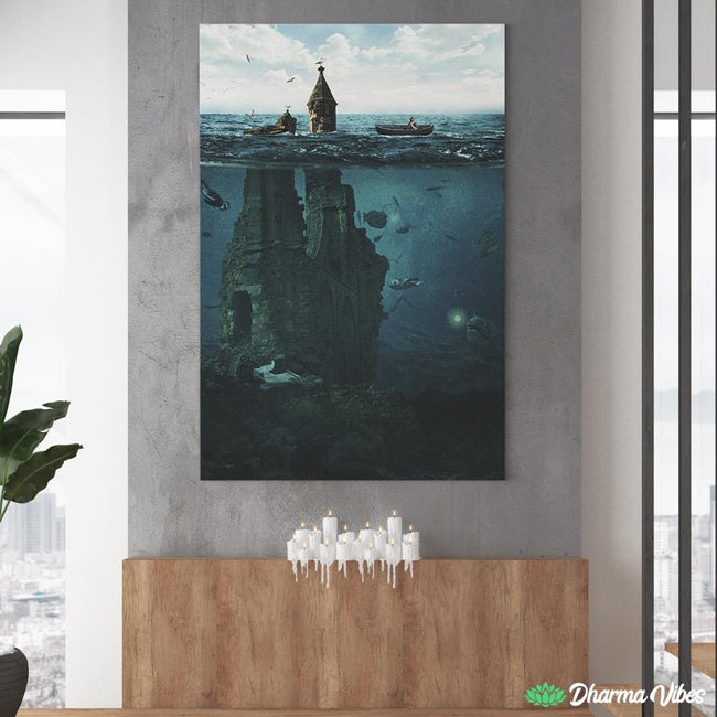 Lost City by Milos Karanovic 1-Piece Canvas
