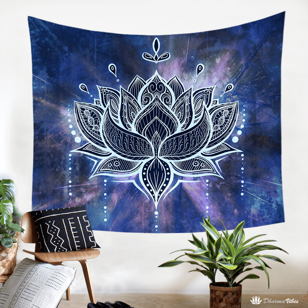 Lotus by McAshe Tapestry