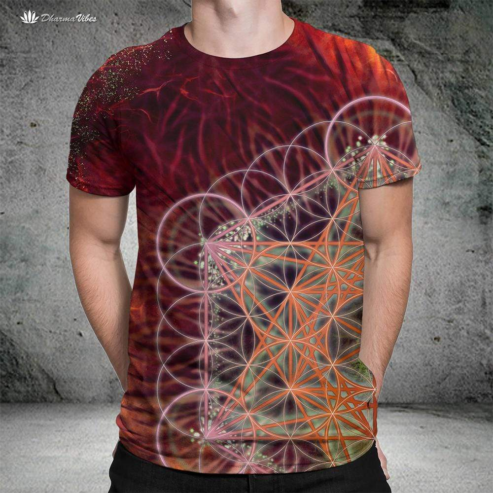 Metatrons Red by YantrArt Shirt