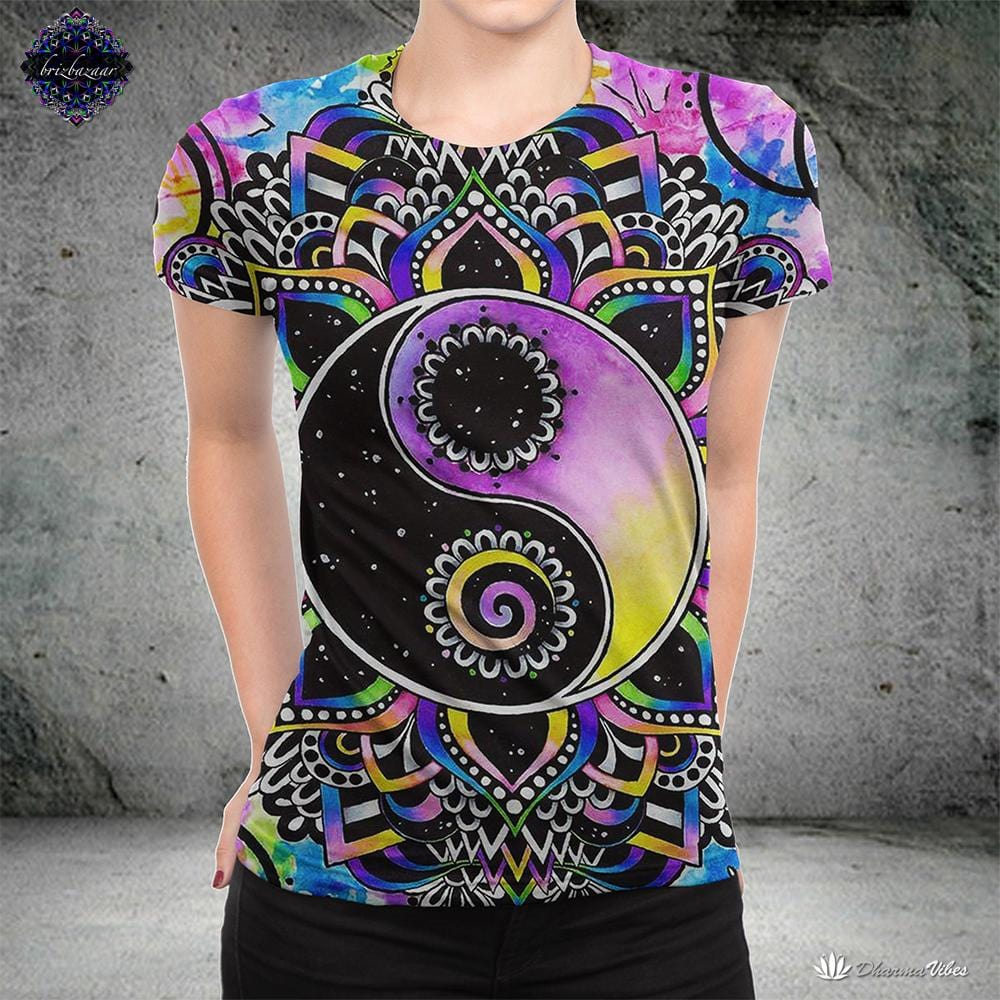 Magical Balance By Brizbazaar Yoga Shirt
