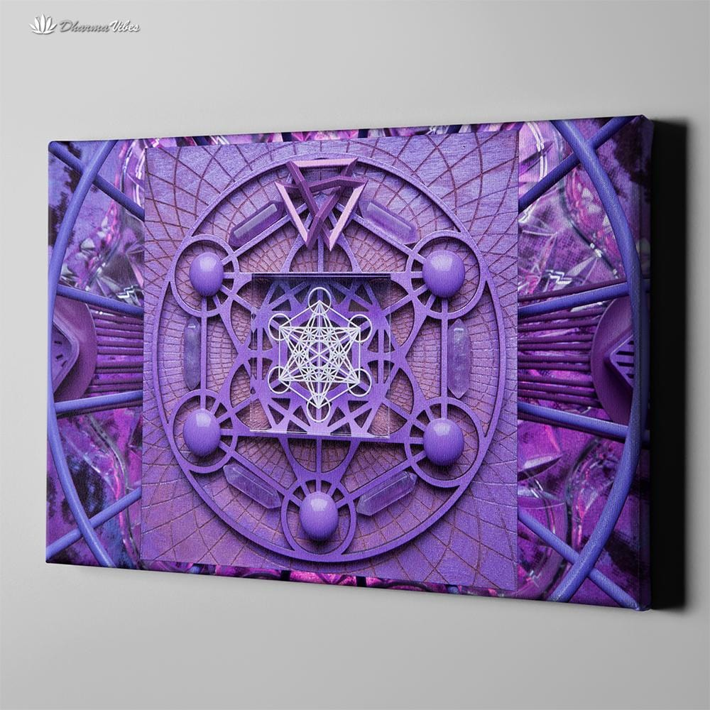 Metatron by LightWizard Visionary 1-Piece Canvas