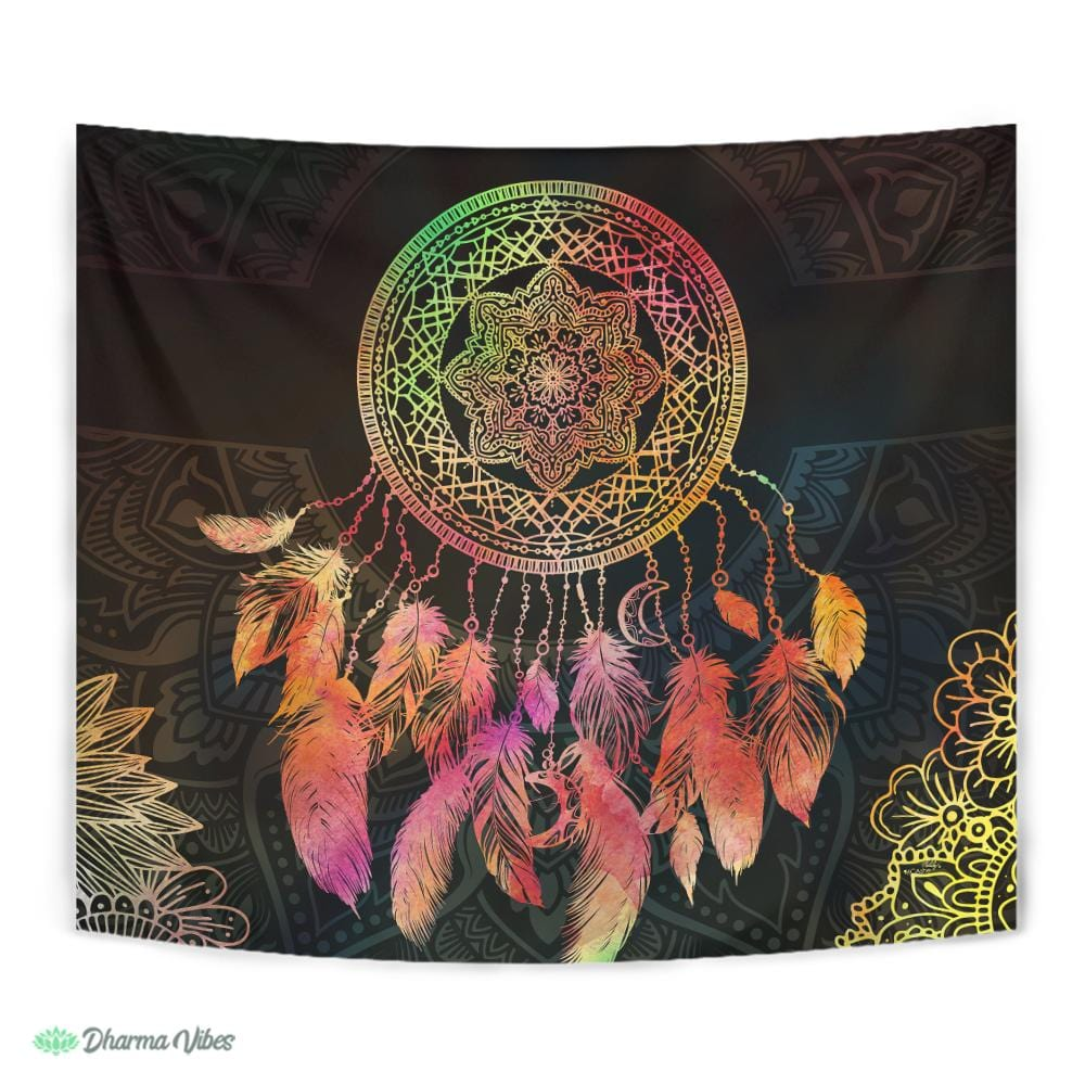 Mystical Dreamcatcher by McAshe Tapestry
