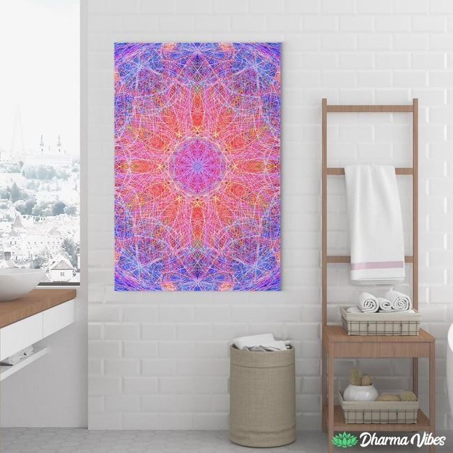 METACRONIC TRIP by YantrArt 1-Piece Canvas