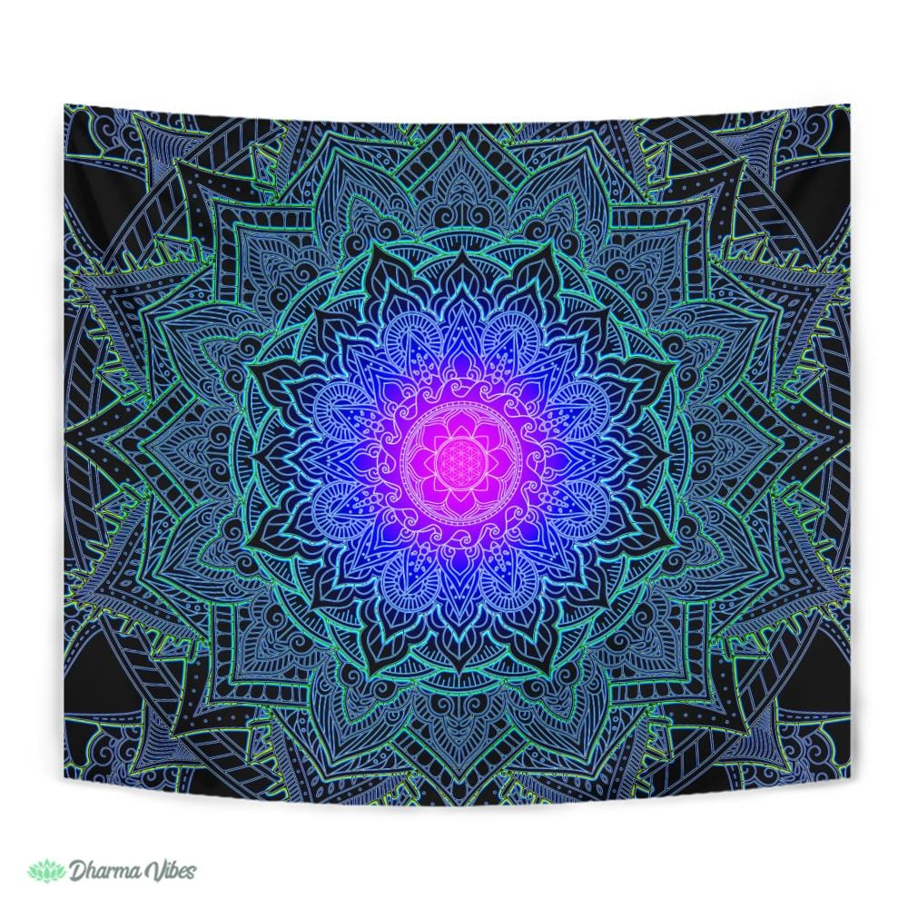 Mandala Love by Cameron Gray Tapestry