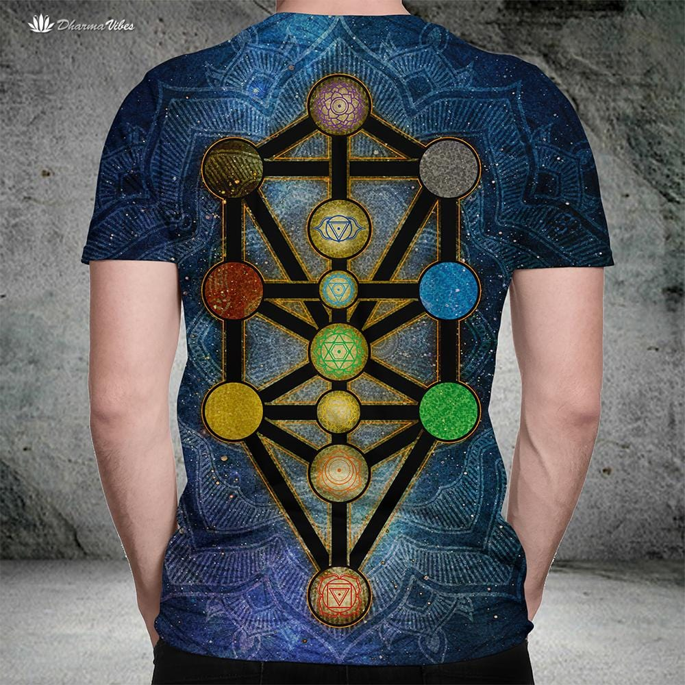 Tree of Life Kabbalah by McAshe T-Shirt