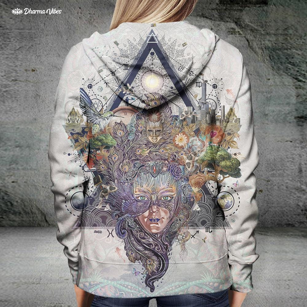 Moments by Cameron Gray Visionary Hoodie