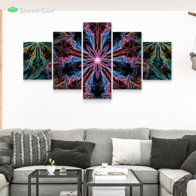 Mantrip by YantrArt 5-Piece Canvas