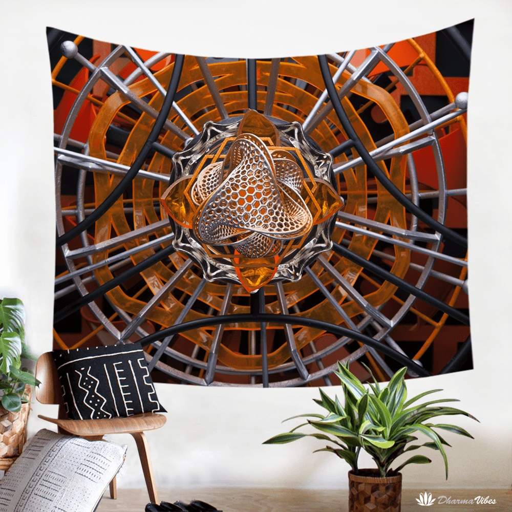 Maverick by LightWizard Visionary Tapestry