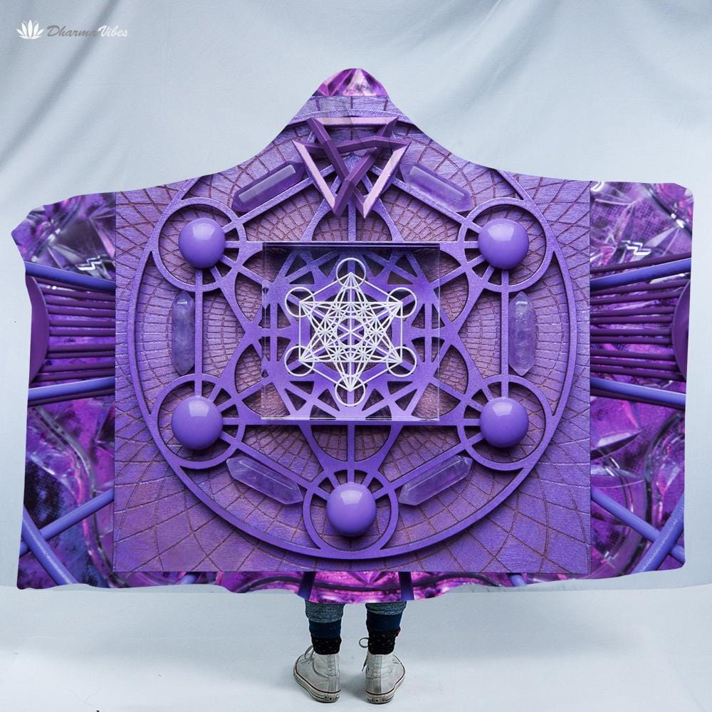 Metatron by LightWizard Hooded Blanket