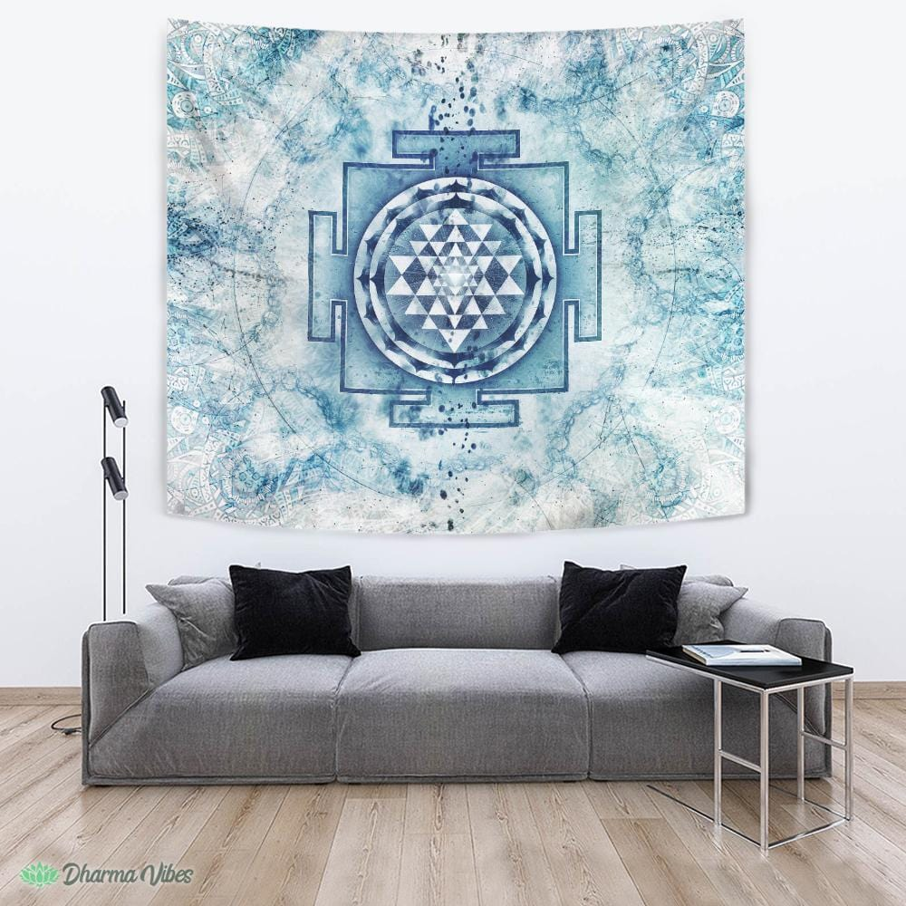 Nirvana Yantra by McAshe Tapestry